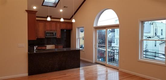 Come see this unique property in a booming Jersey City market, perfect for first time home buyer or investor. This massive two family house features 5 bedrooms and 3 bathrooms for each unit/ Apartment 1 features bonus living space in the ground floor for an additional 1400 sq ft of living space. Property can easily situate 3 plus vehicles. Each unit has 1700 sq ft of living space which features hardwood floors, granite counters, central air/heat and much more.