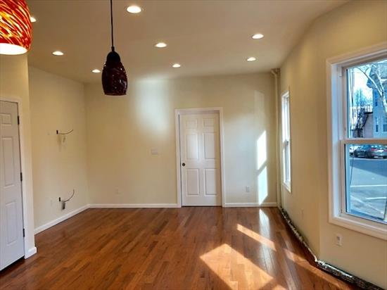 This beautifully Renovated 2 Family Corner Building located right off of Central Ave. 2nd Floor has 3Bed/1Bath, Kitchen w SS Appliances, W/D in Unit, Rain Shower System w glass doors in the bathroom and more. 1st Floor has brand new 2Bed/1Bath w SS Appliances, W/D in Unit, updated Bathroom, New Windows, High Ceiling & more. Finished Basement w Living Room, 2 Bed and a Full Bath, which has a separate entrance on the side. Parking lot on the side of the building can fit 2 Cars & has some more space in the front. Next to Shopping, Huge park down the block, Brand New School around the corner, Bus is down the block to JSQ & NYC. Short walk to JSQ PATH.