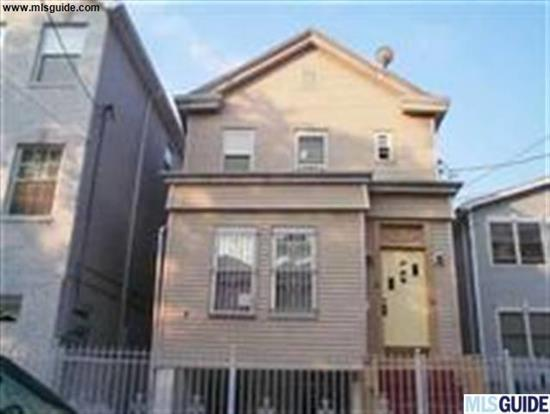 EXCELLENT INVESTMENT OPPORTUNITY!!! 3-Family house conveniently located in Journal Square area of Jersey City! Great for NYC commuters! 2 3BR/1BTH units and 1 2BR/1BTH unit! HOUSE IS IN GREAT CONDITION! Eat-in kitchens, bright&spacious rooms, large living areas, clean bathrooms with tubs! DO NOT MISS THIS INCREDIBLE INVESTMENT OPPORTUNITY...IT WILL NOT LAST!!!