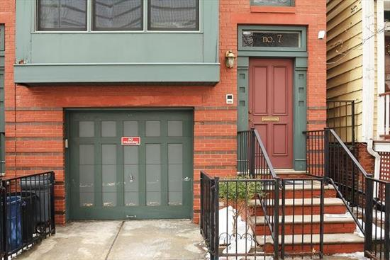 2 Family Luxurious Brownstone features a bonus cozy studio on street level, 1BR/1BTH - 800 Sqft w/balcony off the bedroom, 2BR/2.5 BTH - 1300+ Sqft Duplex unit, w/balcony off dining room. Units features stainless steel appliances, cherry wood cabinets, Hi Hat lighting, crown moldings, hardwood floors thru out, great yard space for grilling. Fabulous Downtown Location yards from the Grove St. PATH, shopping and restaurants.