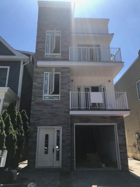 Unique opportunity to own brand new single family new construction home on Hauxhurst Ave in Weehawken. Nearby Blvd East and Park Avenue. Approximately 3, 700 SF , 3-story, fully approved, process of being built. Seller is willing to work with buyer early in the process to choose items such as cabinets and fixtures. 3 car garage, recreation room, laundry room on ground floor, eat in kitchen, living/dining areas, 1 bedroom, 1 full bathroom, powder room, pantry and walk in closet, plus outdoor terrace on 2nd floor. Master Bedroom Suite with full bathroom and walk in closet, plus additional 2 bedrooms and hallway bathroom on 3rd floor. 2 HVAC units for central A/C/ forced hot air heat. Installing Stainless Steel appliances, hardwood floors ,  ceramic floors in recreation room. Easy 5 minute commute to NYC and Hoboken via Jitney bus, NJ transit bus, light rail and ferry to Midtown and Downtown NYC. Top rated school systems in the state. Don't miss this rare opportunity to move into a brand new house and if purchase earlier enough before sellers order then buyer can pick own colors for kitchen and bath!!!