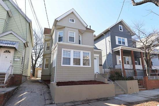 Renovated 2 Family Home in great location... 1/2 block from light rail, and 1/2 block from Broadway shopping. Improvements include new floors, recessed lighting, washer & dryer hook-ups on the 2nd floor unit. New Kitchens and Bathrooms.