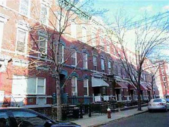 HOBOKEN 3 FAIMLY BRICK UPTOWN. LOCATION ON PARK AVE, EXCELLENT INVESTMENT GOOD INCOMES, SHOWS WELL, HWFS, TILED BATHS, LARGE ROOMS W/5 ROOMS EACH .