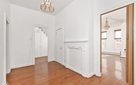 Location! Location! Great two family home on a quiet street, one block from Central Avenue shopping district and House of Worship. 2nd floor is a duplex featuring 3 bedrooms, with hardwood floors and new carpeting on top floor. Oversized backyard, great for entertaining.