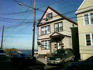 THREE FAMILY HOME OVERLOOKING NEWARK BAY. CAN ACCOMODATE A SUBDIVISION OF APPROXIMATELY 33 FT. HOME HAS SEPARATE NEW HEATING SYSTEM AND NEW WINDOWS. PARKING FOR SEVEN CARS. 3RD FLOOR FEATURES A BEAUTIFUL LOFT. ALL APARTMENTS HAVING MAGNIFICANT VIEW. BUILD A HOME ONCE SUBDIVIDED OR LEAVE AS IS.