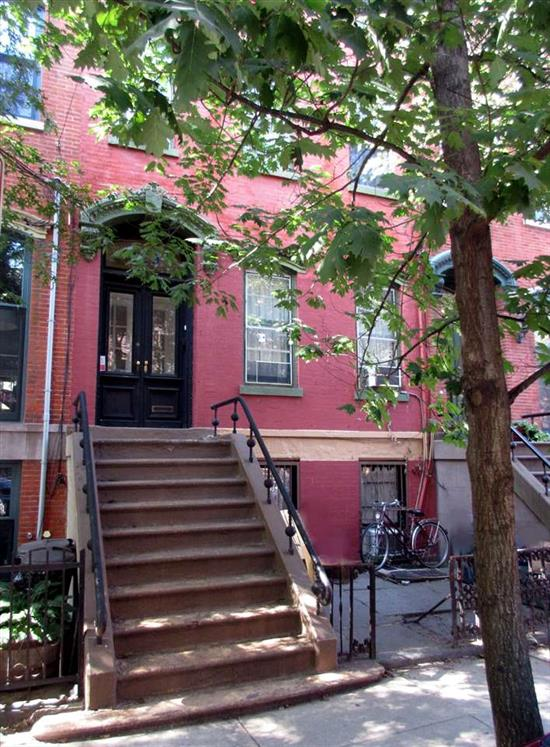 ALTHOUGH THIS IS CURRENTLY AN INCOME PRODUCING THREE FAMILY INVESTMENT, THIS BRICK VICTORIAN ROW HOUSE HAS IT ALL...DETAIL, LOCATION, GARDEN, SPACE AND MOST OF ALL DESIGN AND STYLE AND WOULD MAKE A WONDERFUL RESTORED SINGLE FAMILY. IT DOES NEED SOME CLEANING UP AND WORK...BUT IT WILL BE A WORK OF LOVE FOR THE RIGHT BUYER OR INVESTOR. 24HR MIN. NOTICE IS REQUIRED TO SHOW AND IT IS RECOMMENDED TO SEE IT IN THE DAYLIGHT. THIS VICTORIAN GEM WON'T LAST LONG.