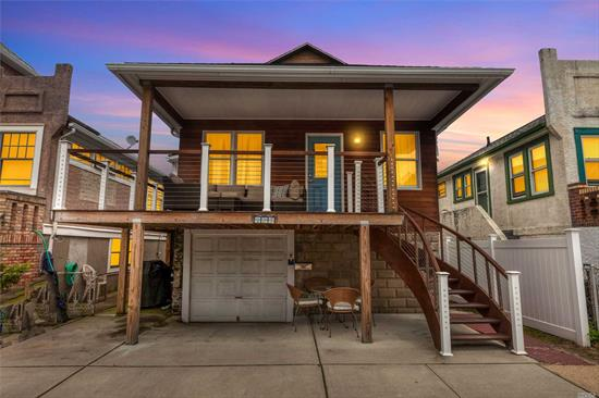 Great updated 3 large bedrooms, two full baths in the Trendy West End. CAC on the first floor only. Front of house is faced with IPE wood. So is the front porch and steps.Bay views from the front porch!