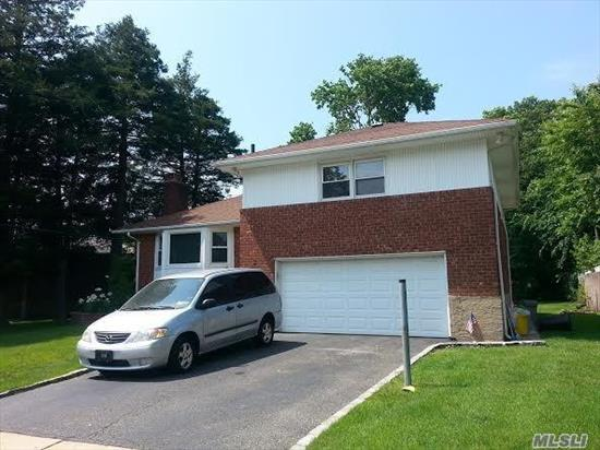 Mint condition 3 BR 3 Bth Split with 2car garage in Syosset SD.