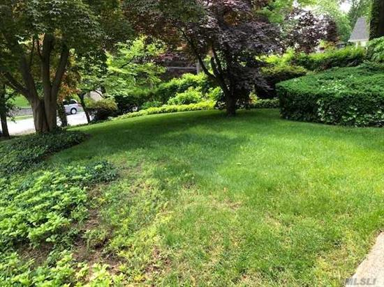 You Can Build You Owen Mansion On This Magnificent Oversize Property 10.546 Sf. In The Prestigious Little Neck Hills Area Surrounded By Many Mansions Close To All . Shopping, Restaurants, Transportation, Buses LIRR, All Major Highways And It Is SD # 26 **** Don't Miss It ****
