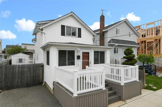 Bring your toothbrush and your boat and move right in to this newly updated waterfront gem. Kitchen features granite and SS appliances with sliders to your deck overlooking the canal. 2018 upgrades include New flooring 2nd floor, New a/c unit, New Bulkhead railing, New front railings. Freshly painted 2019. 2 car driveway. Don't miss the opportunity to get that waterfront house you have always dreamed about...