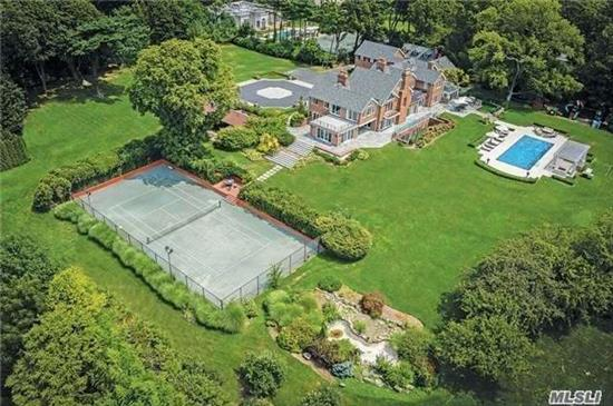 Drive Up To This Flawless Stately Mansion In K.P....11000 Sq Ft Of Ultra Lux Living On 5+ Acres W/Indoor & Outdoor Swim Pools & Tennis Ct. It Features Cath Foyer, Huge Lr, Lge Fdr, 2 Dens + Media Rm, Double Chef Euro Eik.9 Bedrms 8.55 Designer Baths + 3000 Sf Basement.Multi Zones Gas Heat , Cac & Generator & Much More...