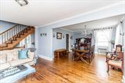 Stunning Colonial For Sale In Little Neck Hills On A 60x100 Lot Size! Featuring Hardwood Floors Throughout, LR W/FP, Designer Bath And Updated Modern Kitchen. Full Finished Basement And Large Private Yard!