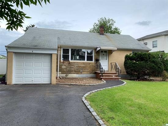 Nice & Bright Southern Exposure, Freshly Painted, Redone Hardwood Floors, New Bathroom,  Walk to LIRR & Town,  New Refrigerator & Stove, Finished BSMT