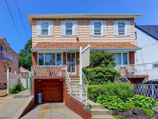 LOVELY COLONIAL IN R3X ZONING!!!! HOUSE BOASTS GORGEOUS OAK FLOORS THREE RENOVATED BATHS UPDATED KITCHEN WITH SLIDERS TO TREK DECK PATIO AND HOT TUB. HOUSE HAS KINGSIZE MASTER WITH TWO GOOD SIZE ADDITIONAL BEDROOMS, FULL STAND UP ATTIC., LOVELY FINISHED BASEMENT WITH TWO SEPARATE ENTRANCES., FULL GARAGE WITH EXTRA DRIVEWAY FOR TWO MORE CARS!!! GORGEOUS GORGEOUS BLOCK WITH MINI MANSIONS, NEAR ALL !! LOVELY FURNITURE FOR SALE!! HURRY DONT WAIT!! THIS IS GREAT ONE