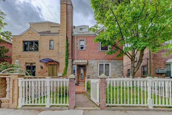 Immaculately kept, 5 bedrooms, 3 full baths with an additional 2 half baths located in the heart of Forest Hills. House features a full finished basement, private backyard and a one car garage. First floor features 1/2 bath, living room, formal dining room and a spacious kitchen with backyard access, second and third floor features 5 full bedrooms plus two full and one half bath. Centrally located near transportation, shopping and houses of worship!