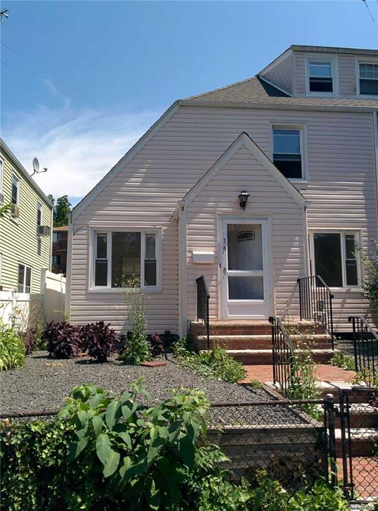 Beautiful Newly Renovated 3 Beds & 1.5 Baths Semi-Detached House With Unique Charming & Peaceful Private Interior Courtyard Setting. Top School District #26 Location. Within Close Proximity To Public Transportation, Shoppping, Restaurants, Business Along Northern Blvd & Littlle Neck Pkwy. Easy Access To L.I.R.R. & L.I.E.