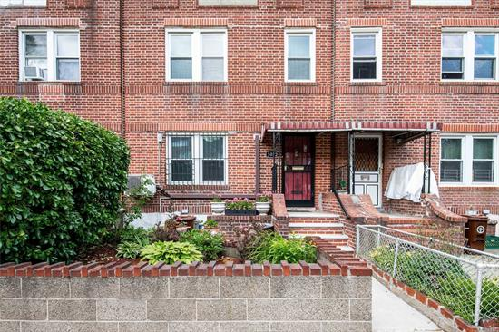 2 FAMILY HOME COMPLETELY V.O.T. BRICK CONSTRUCTION 1ST.FLOOR -5 ROOMS, 2ND.FLOOR-6 ROOMS.2 CAR GARAGE.CLOSE TO TRAIN AND SCHOOLS, I.S.125, P.S.199.HIGHWAY TO MANHATTAN.BROOKLYN LESS THAN 3 BLOCKS FROM HOME.PHOTOS TO FOLLOW JUNE 4TH.ACCEPTED OFFER!!!