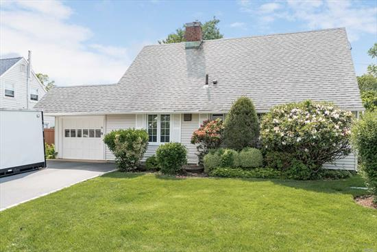 Come see this Beautiful 5 Bed Expanded Ranch on a quiet block in desirable Levittown School District. Eik & Freshly updated Formal Dining Room Large Living Room with fireplace & Sunny All Season Room, both leading to a Spacious yard. Large with Closets and Storage space and a bonus added Laundry Room.