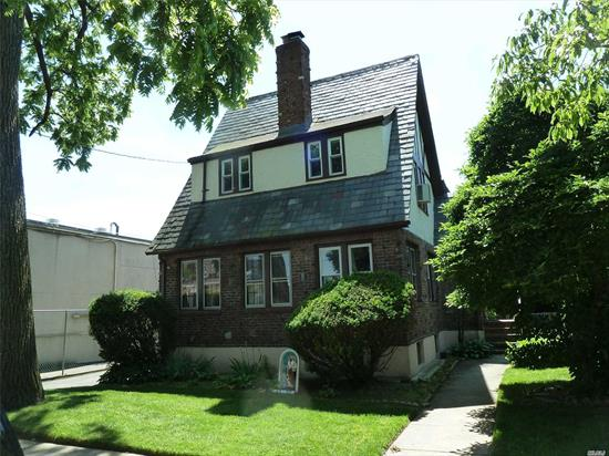Large Colonial House Situated In R3X Zoning In The Heart Of Bayside. It Features Lot 50 X 100 (5000 Sf), 5 Bedrooms, 1.5 Bathrooms, Full Basement , 2 Car Garage, long Driveway and back yard. Close to Northern Blvd,  Mass Transit, Major Highways, Shops, And All. Excellent Condition.