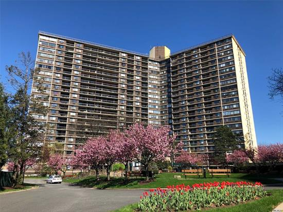 Nice 1 bedroom 1 bath updated condo in Bay Club, Nice big bedroom, kitchen has stainless steel appliances. The Bay Club is a Gated Community offering 24 Hour Security, Doorman, Indoor Pool, Gym, Convenience store, hair dressing Salon and a lot more..Just steps from the Bay Terrace Shopping Center and Express Buses to Manhattan.
