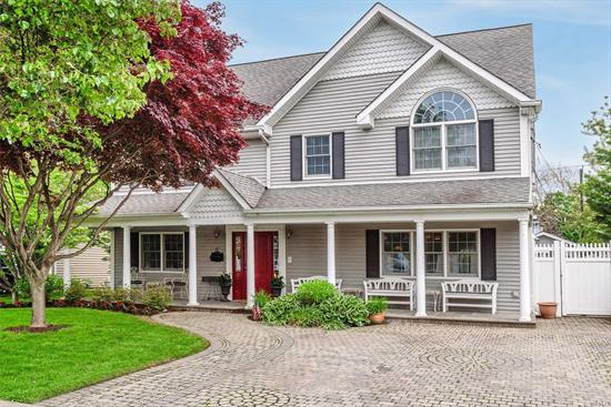Huge 5 Bed, 3 Bath Colonial Built in 2000 In Levittown For $799, 000. Boasting Over 2, 940 Sq Ft, Plus Huge 1, 500 Sq Ft Finished Walk Up Attic! The Most Magnificent Home In Levittown With Country Club Yard Including Ig Pool & Hot Tub With Manicured Landscaping. Top Of The Line Appliances Featuring Sub-Zero, Thermador Double Oven Plus Intercom System, Alarm System, Central Air & Much More! This Home Is Larger Than Most New Construction Being Built & Is Situated On A Quiet Street. Move Right In!