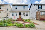 Detached Colonial in Prime Whitestone Location. 1st Floor Offers a Porch, Office, LR, FDR, KIT, 1 Bedroom, 1Bath, Rear Porch and a Rear Deck, 3 more Bedrooms and 1 Full New Bath Upstairs plus a Storage Attic, Finished Basement with another Bath, Private Driveway, Gas Heat, Vinyl Windows. Eastern Exposure, Large Rear Yard, Near Schools, Shops, Hoses of Worship and Transportation. Short Distance to Cross Island Pkwy and Bridge Access.