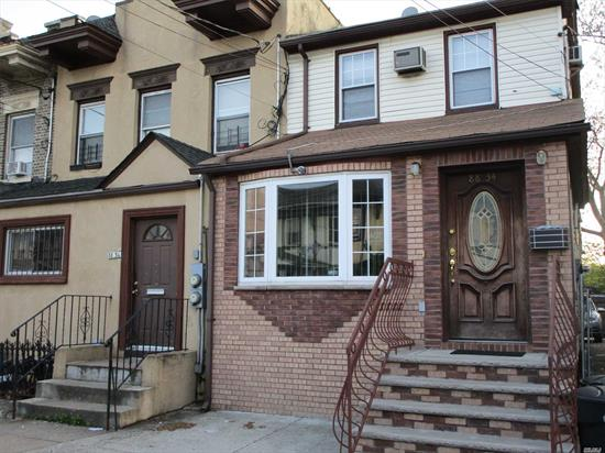Location, Location. Awesome Location For City Dwellers. Spacious 1 Family Home Nestled On Quiet Block Between Hillside Ave. And Jamaica Ave. Walk To E, F, J & Z Trains, Schools, Nearby Coffee Shops, Restaurants, Entertainment, Parks And So Much More. Don't Delay; Call Today And Get One Step Closer To Closing..