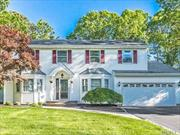 Home Awaits- Pride Of Ownership Speaks From This Meticulously Renovated & Maintained Custom Built Spacious Colonial. Greeted by an Entry Foyer, Living Room, Family Room, Formal Dining Room, Updated Kitchen, and Office. Master Suite w/Walk- In Closet, plus 3 Bedrooms, & 3 full baths. 3 zone gas heat, Oversized Driveway W/Stone Apron & Inground Sprinklers. All This & More Set On Approx. 1/3 Acre W/Park-Like Fenced Backyard & In-Ground Pool. Make This Home Your Reality in Middlecross Estates.
