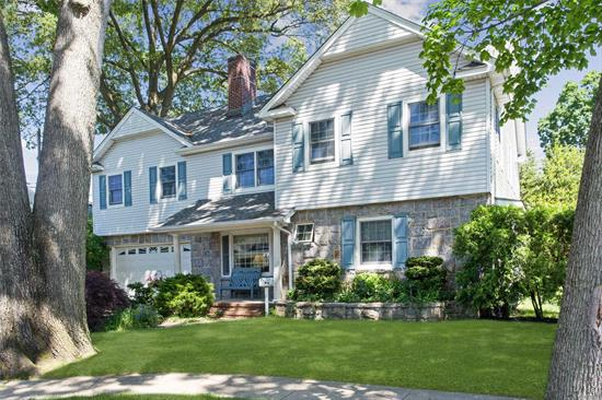Majestic Colonial! Sprawling Master Bedroom with jacuzzi bath and walk in closet. A walk up attic takes you to a huge third level storage attic. Second floor dormer 15 years old. Anderson windows through out. Roof 5 years old. New hot water heater. *** Your dream home awaits!