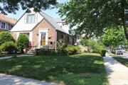 50x100 corner lot(can be built huge new House) #26 school district. This Diamond condition of expanded Cape sitting on prime location of fresh meadows, has 4 bedrooms and 3 full bath, was totally renovated 4 yrs ago, beautiful landscaping and garden in the back,  Just minutes away from the bus stop, Highway I-495.