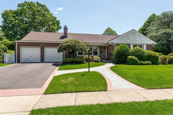 The Ranch everyone has been waiting for. Flexible layout as it currently is or can be expanded in all directions. A Must See. Three bedrooms, den/family room on first floor. Finished Basement with egress window. Very large property, that has been beautifully landscape.