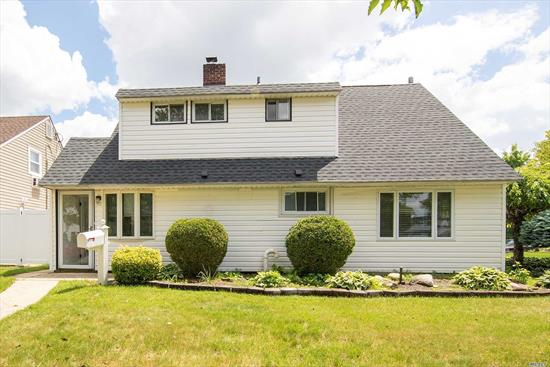 Welcome To 51 Boat Lane In Prestigious Levittown! 5 Bedrooms and 2 Bathrooms, Plenty of Room For Everyone! Formal Dining Room, Gorgeous Fireplace, Appliances Are New, Beautiful HW Floors, Fresh Paint and Molding Work Done! Plenty of Windows Makes This House Light & Airy.