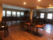 Turn-Key Restaurant Established Over 70 Years Ago And Is A Huge Staple In It's Community. Fully Renovated Restaurant That Has Over 170 Seats. New Equipment, Electric And Plumbing. Full Bar Services Complete With Lottery/Quick Draw. Upper And Lower Dining Areas With A Catering Room. Fully Functional Kitchen And Ample Storage. 50+ Parking Spaces. Restaurant Business To Be Sold With Building Real Estate.