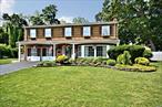 Great Colonial plenty of room in this well maintained home. Wood floors throughout on upper level.