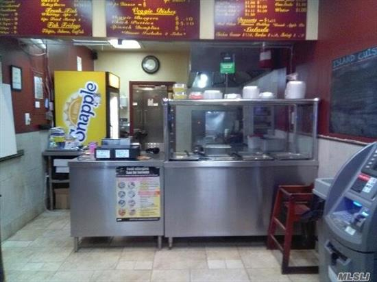 This is an excellent opportunity to have your own business , The seller is very motivated to sell and he is ready to listen to your offer . Remember that this location is perfect for any type of business, you still have 8 years of lease.