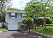 Come See This Beautiful 4 Bedroom Raised Ranch. All Hardwood Floors, Florida Room, 1 Car Garage, Updated Roof & Burner, Central Air Conditioning, Located On 1/3 Acre Property On Dead End Street. Sachem Schools! Plenty Of Room For Mom!