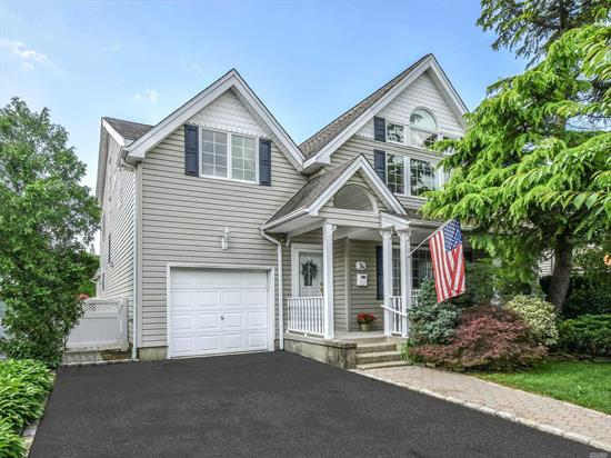 Lovely and bright 4 BR 2.5 bath colonial with all desired spaces. Featuring: over-sized eat in kitchen with breakfast area, spacious family room with fireplace, formal dining room, living room, large private fenced in backyard, master suite with vaulted ceilings, playroom, and tons of closets throughout. Made for comfortable living, a must see!