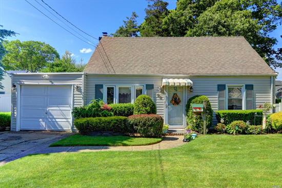 Welcome to this beautiful cozy cape style home with unlimited possibilities. Home features, 3 Bedrooms and one potential, 1 Bath, Sun Room, Spacious Backyard. Mid-block location, close to shopping. Massapequa School district. This won't last!!