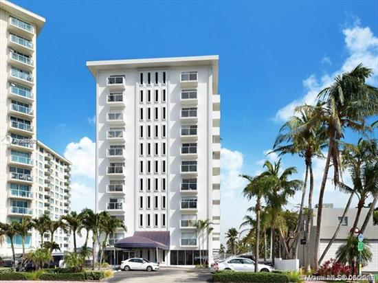 Run Don'T Walk, Best Deal In All Of Miami Beach, Don'T Miss Out On This Spectacular 1 Bed 1.5 Bath Direct Ocean Front Corner Unit Located In The Heart Of Millionaires Row. Property Features Tile Floors Througout, Huge Masterbedroom With Large Walk-In-Closet , Remodeled Masterbathroom, Open Floor Plan, Large Balcony, Plus Much More. This Gem Of Abuilding Has Both Bay And Ocean Access. Enjoy Your Summer Relaxing By The Pool And Enjoying The Beach, Or Walking/Exercising On Th New Pavered Boardwalk Directly Behind The Building. Priced To Sell, Hurry Call Now As This One Will Not Last! Call Owner/Agent For Showing Instructions.