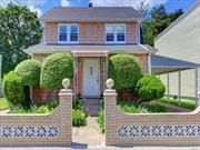 Welcome to this beautiful Hempstead Colonial!! 3 Br, 1 full ba, Eik, formal dining room, Gas cooking,  walk up attic, hardwood floors, 2 car det garage, private yard, on a quiet block! Don't miss this fantastic home!!