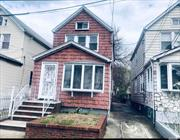 Beautiful 3 Bedroom Colonial in the heart of Jamaica. Brand New Custom Kitchen and Baths, Hardwood flooring, full finished basement. Huge lot size 21X150. A Must See!