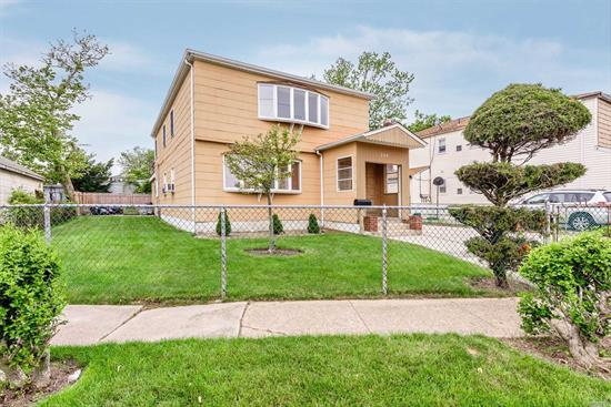 Great investment! Everything recently redone, new roof, boilers, hot water heaters, kitchen, SS appliances, granite CT, and new hw floors. Easy access to crawl space. First floor is rented, second floor is being delivered vacant. Separate Gas and Electric meters for each unit.