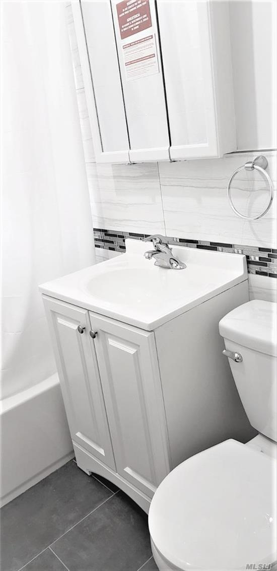 Beautifully updated one bedroom with brand new bathroom truly a must see. And at this price it won't last long!. Kitchen/Living room combo, 2 closets &? separate bedroom. Hardwood floors throughout. Clean and well maintained building. Superintendent available. Centrally located near all!? E/F Train @ Union Turnpike & LIRR @ Kew Gardens. Laundry down the road. Heat & Hot water included - Gas & Electric separate.? Cats ok!