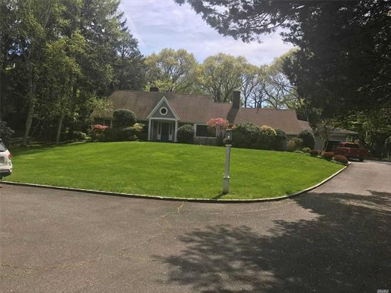 2.04 acres contemporary house, 4 bedrooms 3 bath, indoor pool, 2 fire places, cold spring harbor award Winning school district , Beautiful front and back landscaping,