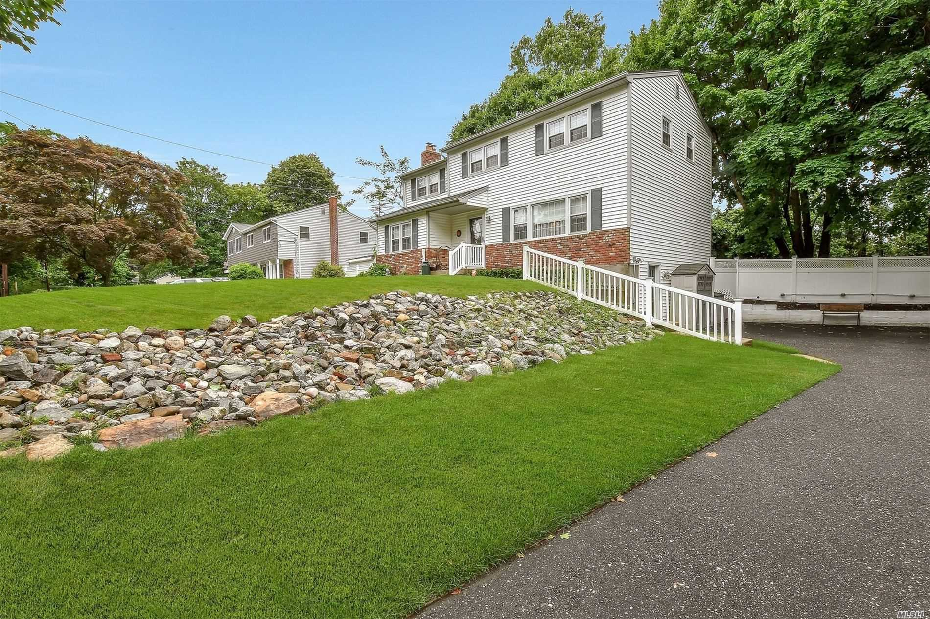 Perfect Colonial for your family! Spacious & beautifully maintained. Oak floors throughout, Newer baths, Master suite w/bath, Finished basement with ose perfect for office or gym. Salt water pool and hot tub for 6, Fenced yard, Newer heating system and CAC with upgraded electric.