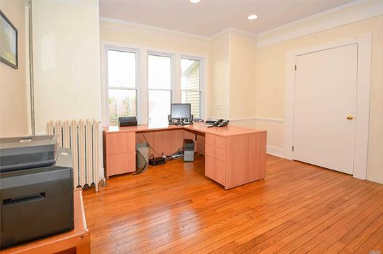 Office space with shared waiting room and powder room. Off street parking, centrally located in Mattituck. Main Rd. visibility