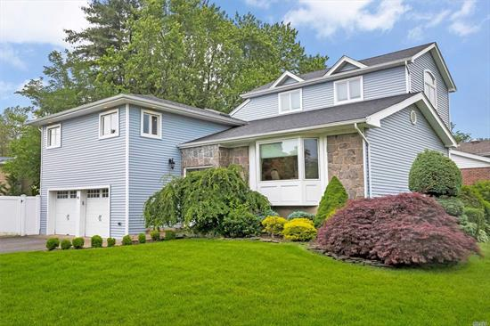 Motivated Seller!! Not Your Average Home! In 2016 A Huge Master Suite with Spacious Custom Closet & Cathedral Ceiling W/ Marble Bath Was Added To This Already Spacious Home. There Are 4 Levels of Living Space- Great For Entertaining! Plus, There Is A Junior Master BDRM With Ensuite Bth and 2 Add'l BDRMS W/ Full Bth. Kitchen and All Baths Renovated! Private Fenced & Landscaped Yard W/ Beautiful Paver Patio. Full House Generator, 2 Car Garage, New Roof, Siding And Windows. Low Taxes!