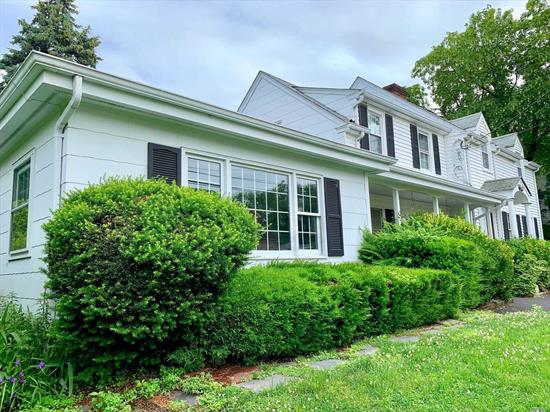 This 1937 5 Bedroom 2.5 Bath Colonial is situated on a 100 X 100 lot located in the the heart of the sought after Hill Terrace section of Glen Head. Perfect setup for a mother/daughter or live in. Don't miss out on this rare opportunity!!