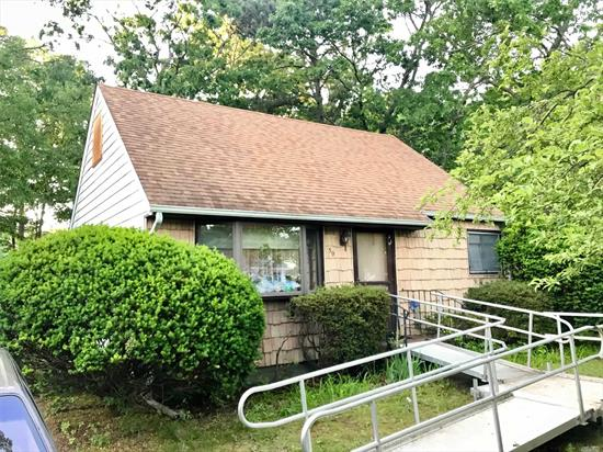 This Lovely Home Features A Big Yard, 3 Great Sized Bedrooms, Low Taxes, and Much More. Finally Get The Affordability you Deserve on Long Island. House is Conveniently Located Close to All Major Food Chains and Highways, Minutes From the Beach. Perfect for Any Family!