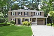East Hills. Updated Center Hall Colonial with 4 Bedrooms and 2.5 Baths, Living Room w/Fireplace, Spacious Formal Dining Room, Den, Master Suite w/Full Bath, 3 Additional Bedrooms, Full Bath. Wonderful Location Near East Hills Park and Pool. Membership Included.